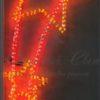 Светодиодная консоль Завитки на сетке желтая, RL-KN-111Y, размер 0.74*1.83 2