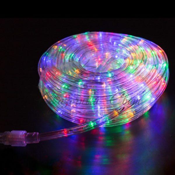 Дюралайт LED, свечение с динамикой (3W), 24 LED/м, МУЛЬТИ (RYGB), 14м 3
