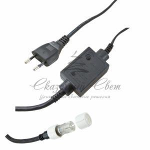 Контроллер 340W, 4 выхода, 8 программ 3-х контактный