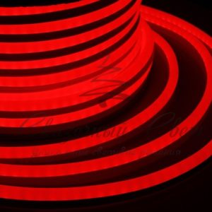 Гибкий Неон LED  – красный, бухта 50м