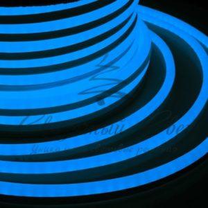 Гибкий Неон LED  – синий, бухта 50м