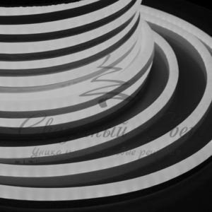 Гибкий Неон LED  – белый, бухта 50м