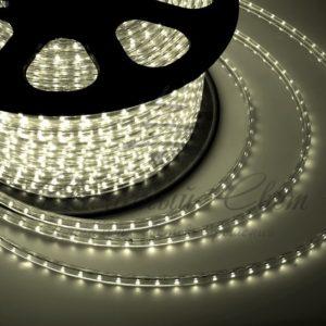 LED лента 220В, 13*8 мм, IP65, SMD 5050, 60 LED/m Тепло-белая, бухта 100 м