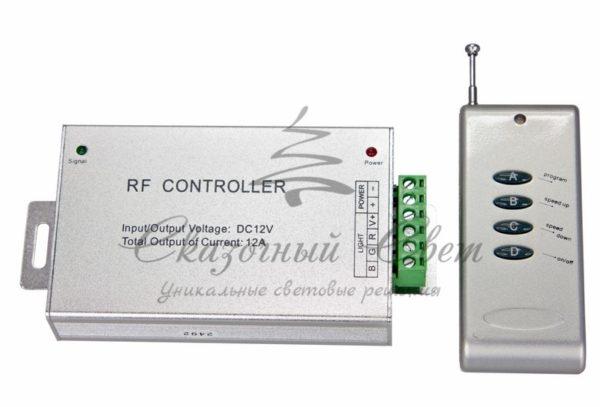 LED RGB контроллер Радио (RF), 12-24V/12A Радио (RF) Neon-Night
