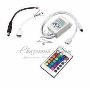 LED RGB контроллер Инфракрасный (IR) 12V/6A Инфракрасный (IR) Neon-Night
