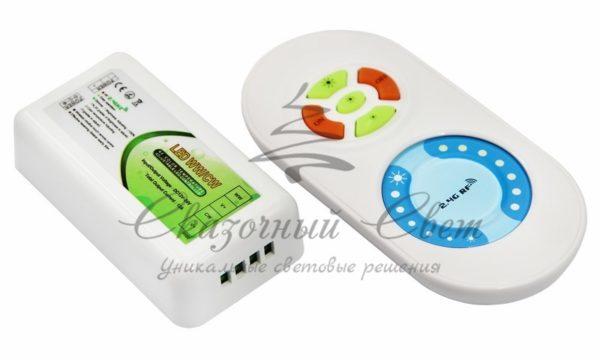 LED контроллер 2.4G (управление цветовой температурой и яркостью) Neon-Night