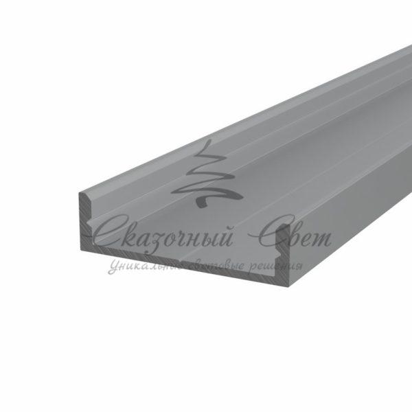 Профиль накладной алюминиевый 2807-2 REXANT, 2м