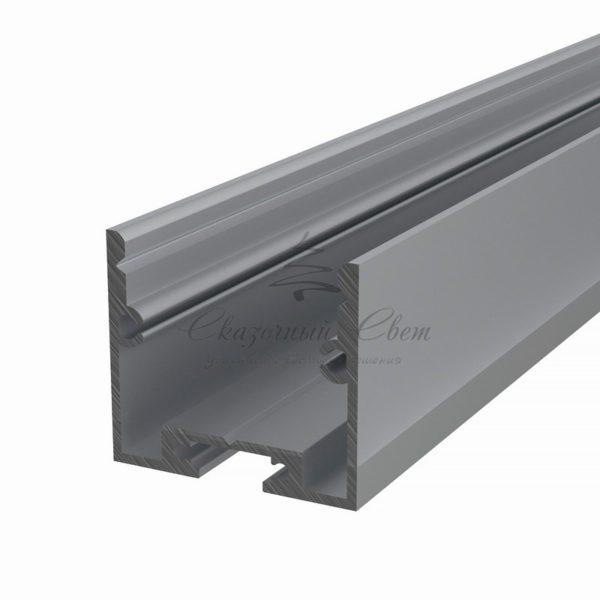 Профиль накладной алюминиевый 2825-2 REXANT, 2м (упаковка 10шт.)