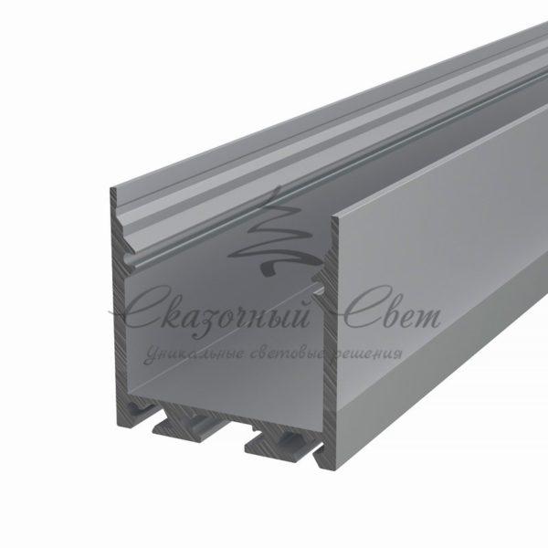 Профиль накладной алюминиевый 3535-2 REXANT, 2м