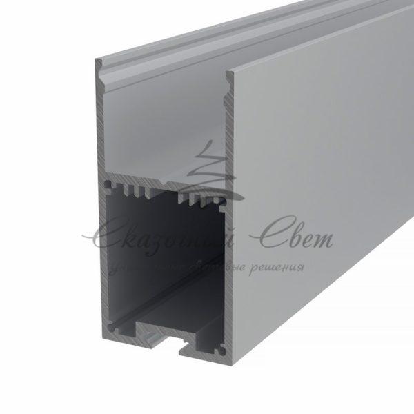 Профиль накладной алюминиевый 3567-2 REXANT, 2м