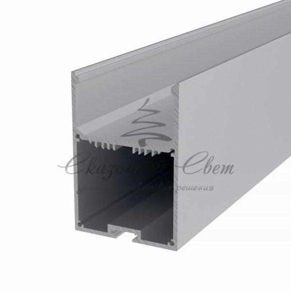 Профиль накладной алюминиевый 5070-2 REXANT, 2м