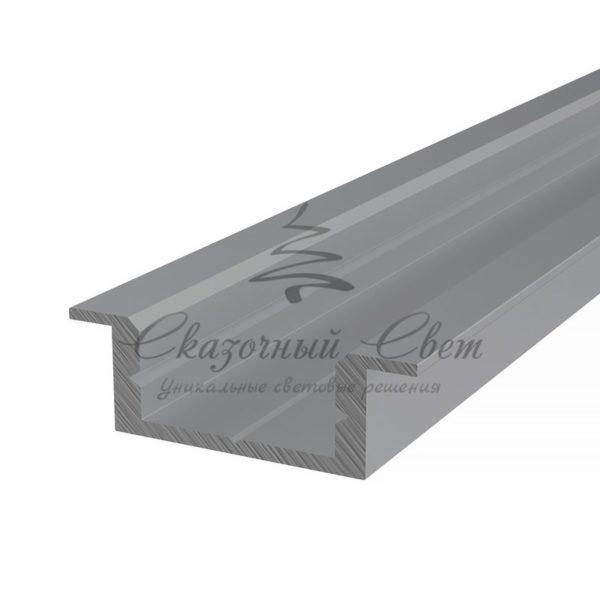 Профиль врезной алюминиевый 2207-2 REXANT, 2м