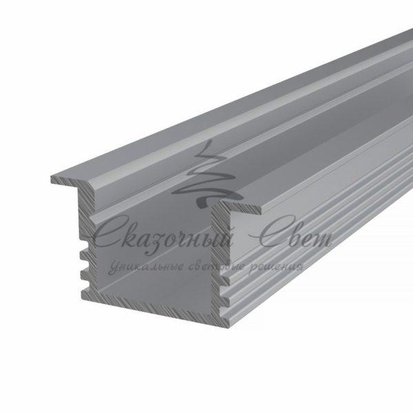 Профиль врезной алюминиевый 2212-2 REXANT, 2м