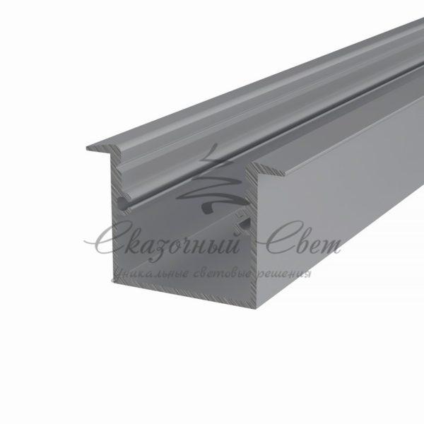 Профиль врезной алюминиевый 3725-2 REXANT, 2м