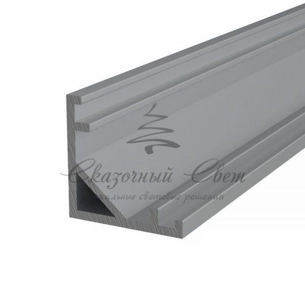 Профиль угловой алюминиевый 1616-2 REXANT, 2м