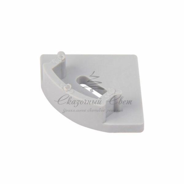 Профиль угловой алюминиевый 1717-2 REXANT, 2м (упаковка 20шт.)