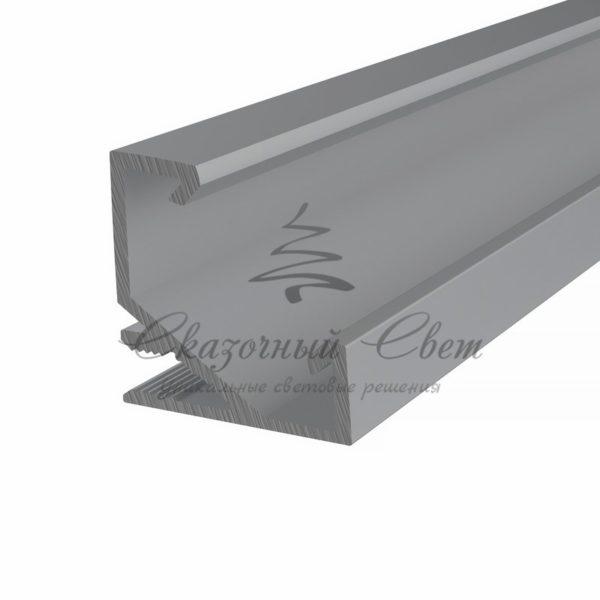 Профиль угловой алюминиевый 1717-2 REXANT, 2м