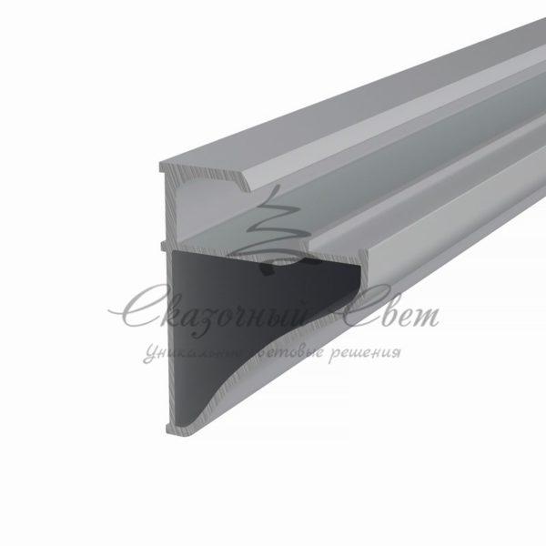 Профиль для полок накладной алюминиевый 3545-2 REXANT, 2м