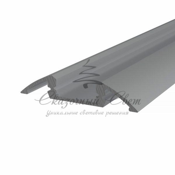 Профиль для порогов алюминиевый 3606-2 REXANT, 2м