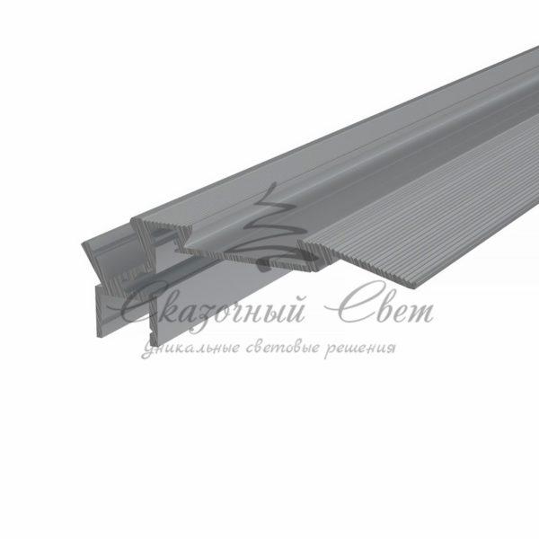 Профиль для ступеней алюминиевый 7928-2 REXANT, 2м
