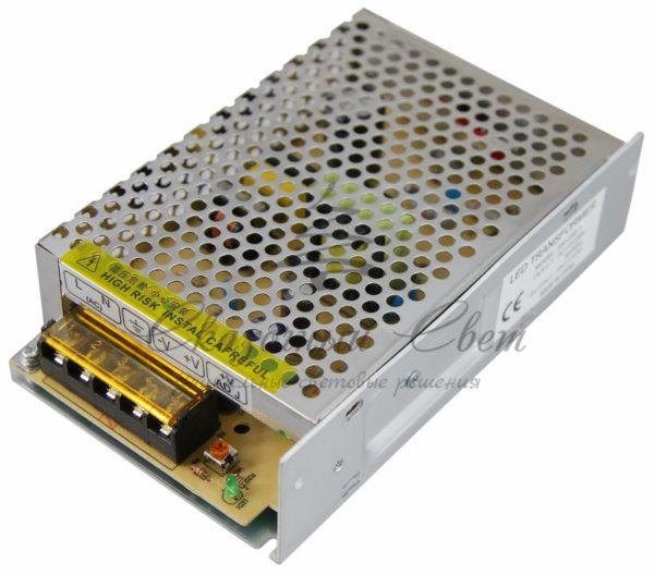 Источник питания 110-220V AC/12V DC, 0,5A, 5W с разъёмами под винт, без влагозащиты (IP23) 1