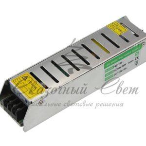 Источник питания  компактный 12V, 80W с разъемами под винт, без влагозащиты (IP23)