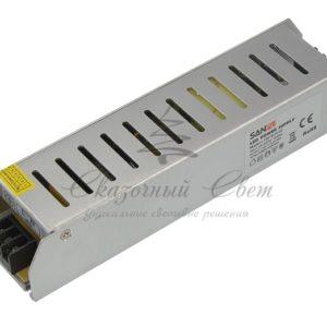 Источник питания  компактный 12V, 100W с разъемами под винт, без влагозащиты (IP23)