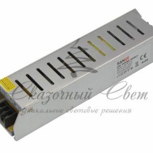 Источник питания  компактный 12V, 120W с разъемами под винт, без влагозащиты (IP23)