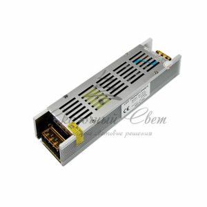 Источник питания  компактный 12V, 16,5A, 200W с разъёмами под винт, без влагозащиты (IP23)