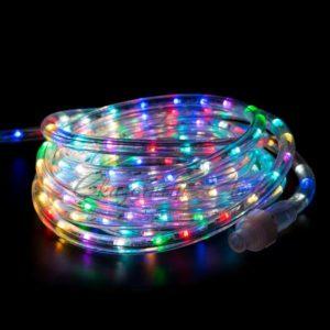 Дюралайт LED, свечение с динамикой (2W) – RGB Ø13мм, 36LED/м, 6м