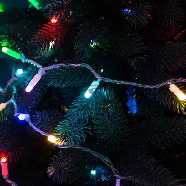 Гирлянда Нить 10м, 100 LED, цвет: Мультиколор, свечение в динамике (при использовании контроллера), 230 В 2