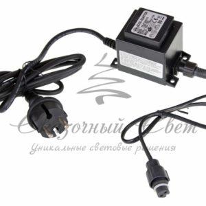 Блок питания для подключения LED сосулек 50см / 80 см, 230-9,5V