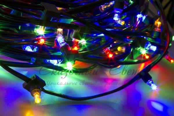 "Гирлянда ""LED ClipLight"" 12V 150 мм, цвет диодов Мульти 2"