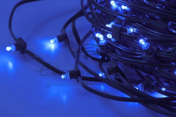 "Гирлянда ""LED ClipLight"" 12V 300 мм, цвет диодов Синий 2"
