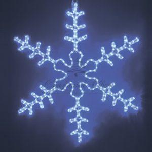 Фигура световая «Большая Снежинка» цвет синий, размер 95*95 см  NEON-NIGHT