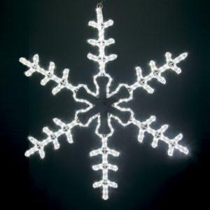 Фигура световая «Большая Снежинка» цвет белый, размер 95*95 см  NEON-NIGHT