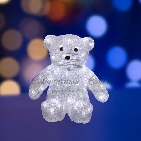 """Акриловая светодиодная фигура """"Медвежонок"""" 30 см, 80 светодиодов, IP 44, понижающий трансформатор в комплекте, NEON-NIGHT"""