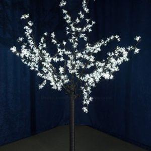 Светодиодное дерево «Сакура», высота 1,5 м, диаметр кроны 1,3м, белые светодиоды, IP 44, понижающий трансформатор в комплекте, NEON-NIGHT