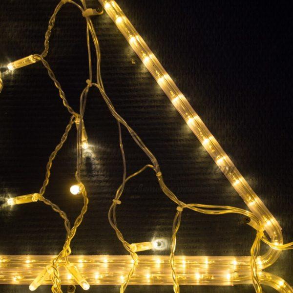 Дюралайт LED , постоянное свечение (2W), 36 LED/м, цвет: Золото, бухта 100м 2