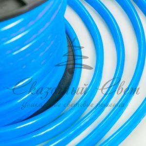 Гибкий Неон LED  — синий, оболочка синяя, бухта 50м