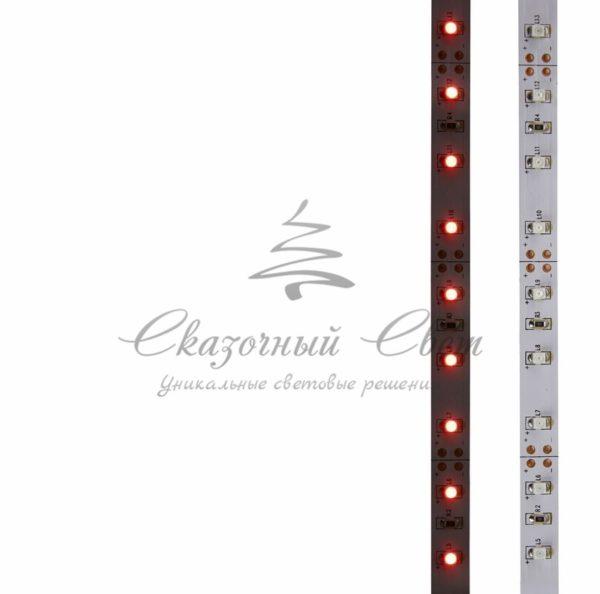 LED лента открытая, 8мм, IP23, SMD 2835, 60 LED/m, 12V, красная, катушка 5 м 3