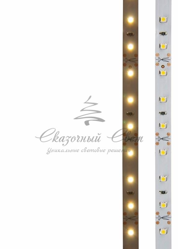 LED лента открытая, 8мм, IP23, SMD 2835, 60 LED/m, 12V, тепло-белая, катушка 5 м 3