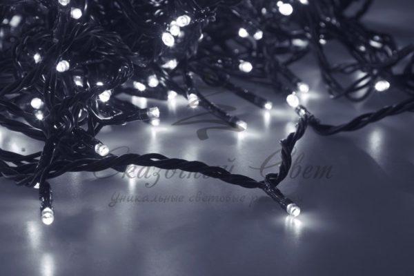 """Гирлянда """"LED ClipLight"""" 24V, 5 нитей по 20 метров, цвет диодов Белый 2"""