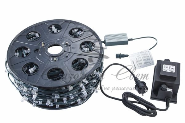 "Гирлянда ""LED ClipLight"" 12V 150 мм, цвет диодов Тепло-Белый 1"