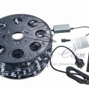 Гирлянда «LED ClipLight» 12V 150 мм, цвет диодов Белый, Flashing (Белый)