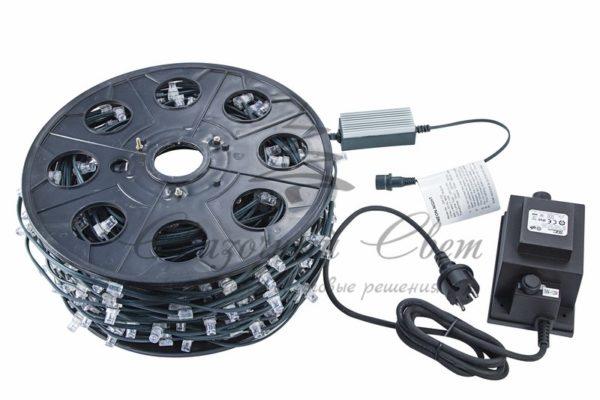 "Гирлянда ""LED ClipLight"" 12V 150 мм, цвет диодов Белый, Flashing (Белый) 1"