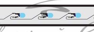 Дюралайт LED, постоянное свечение (2W) — синий, 24 LED/м, Ø10мм, бухта 100м