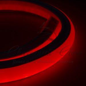 Гибкий Неон LED 360 (круглый) — красный, бухта 50м