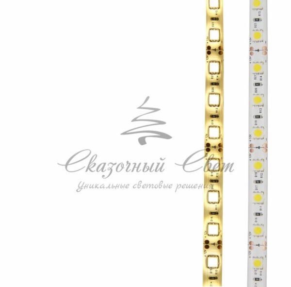 LED лента силикон, 10мм, IP65, SMD 5050, 60 LED/m, 12V, тепло-белая, катушка 5 м 4