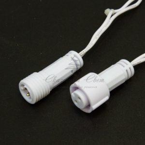 Гирлянда Нить 10м, постоянное свечение, белый ПВХ, 230В, цвет: Белый